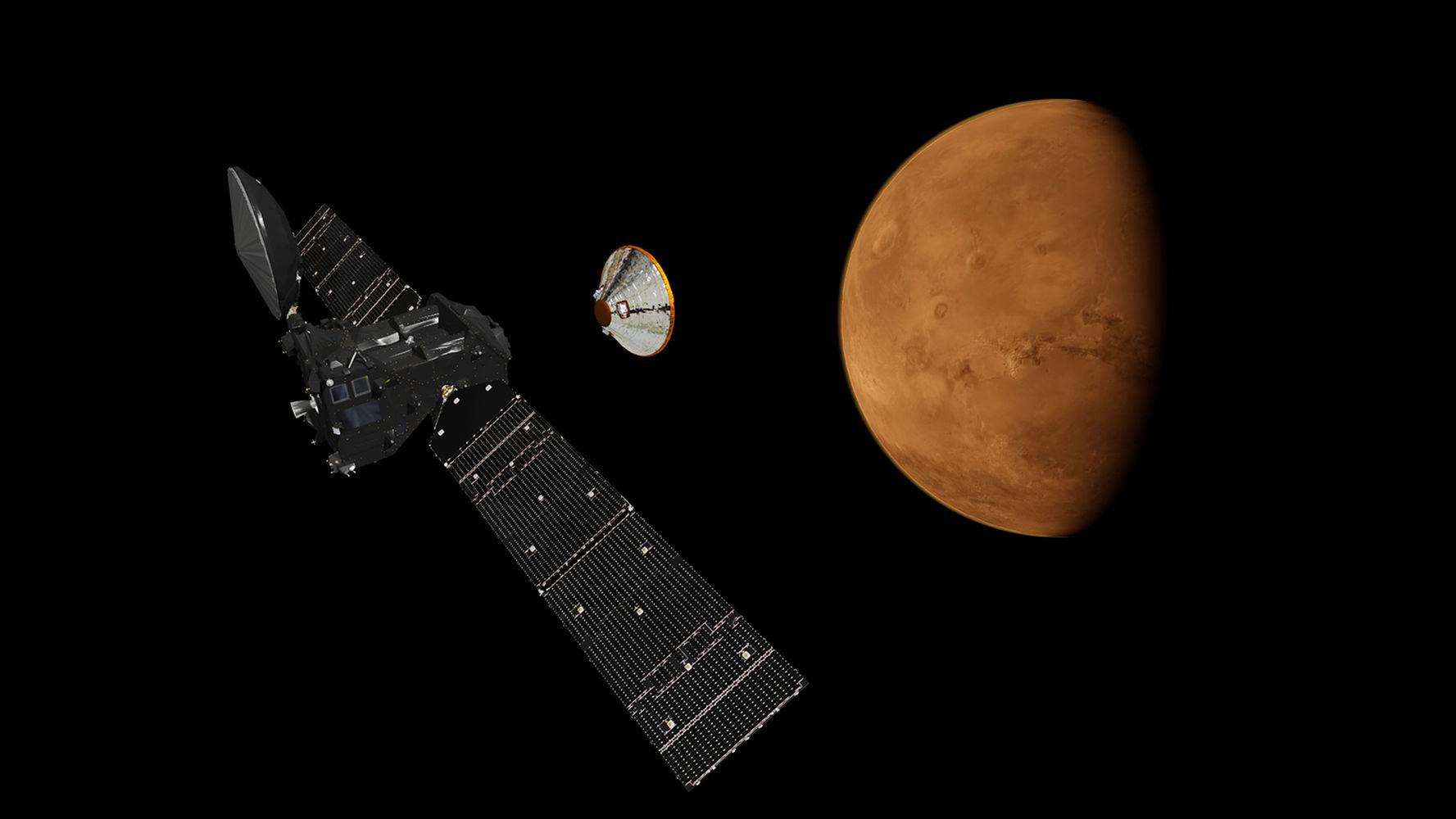 Astronom temukan es di Mars, bukti keberadaan air?