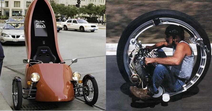 10 Desain modifikasi motor ini unik banget, ada yang bisa terbang lho