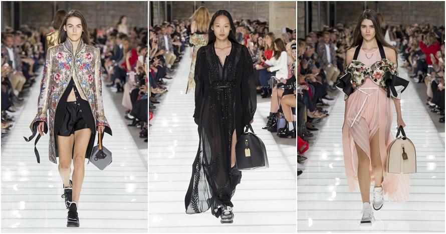 Intip koleksi Louis Vuitton Ready-To-Wear di Paris Fashion Week 2017