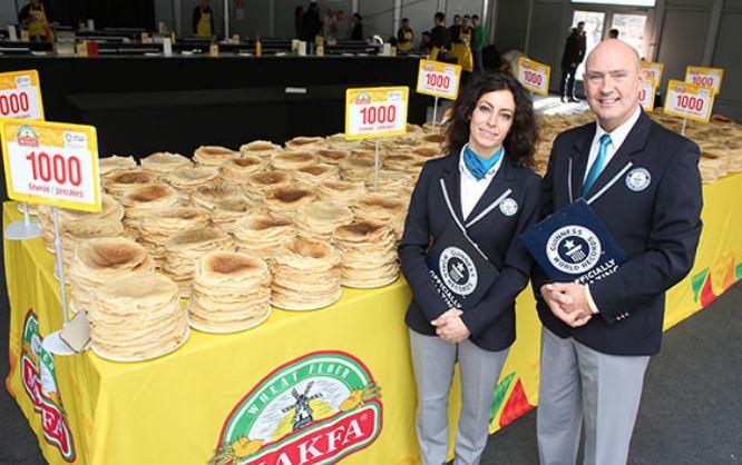 Makanan besar © Guiness World Record