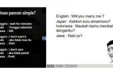 12 Meme kocak Bahasa Jawa ini bikin senyummu terkembang