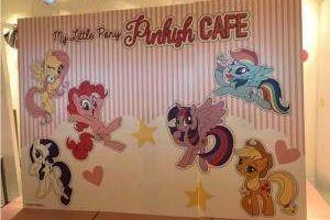 Kafe bertema kartun kuda poni ini unik dan menunya tak kalah nyentrik