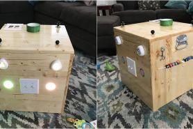 Sekilas seperti kotak biasa, tapi punya segudang manfaat bagi si kecil