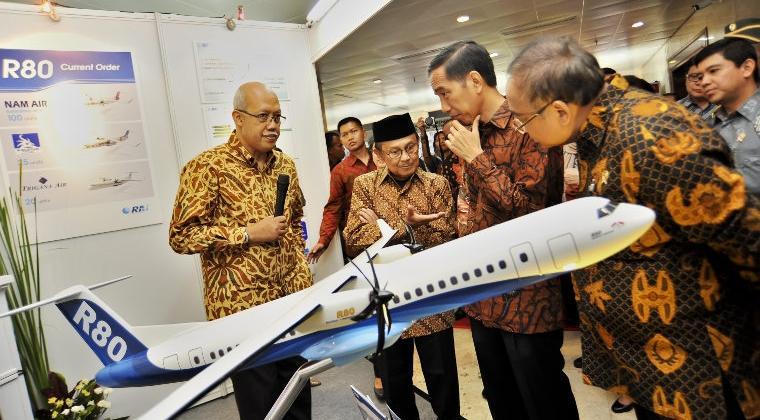 5 Fakta hebat pesawat R80 yang dikembangkan BJ Habibie, bikin bangga