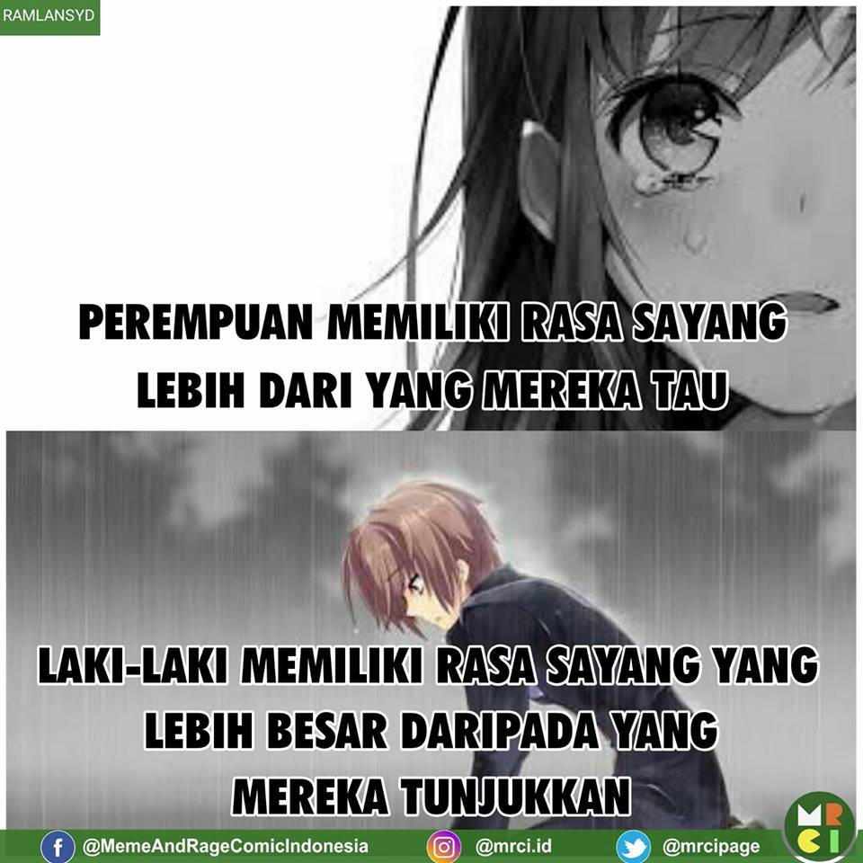Meme Cowok vs Cewek  © 2017 Meme Comic Indonesia