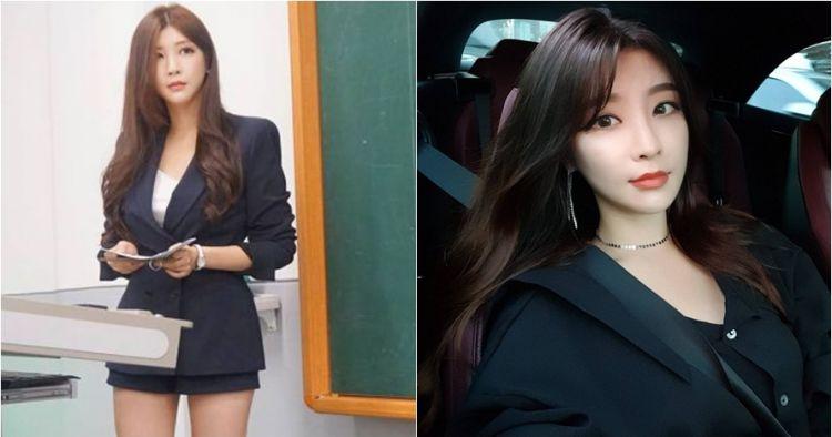 Park Hyun-seo, dosen yang nggak kalah cantik sama bintang Korea