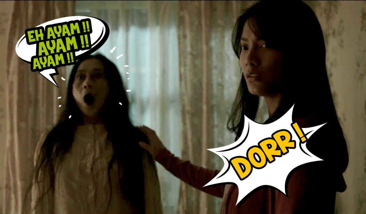 14 Editan adegan 'ibu sampe kaget' film Pengabdi Setan ini kocak parah