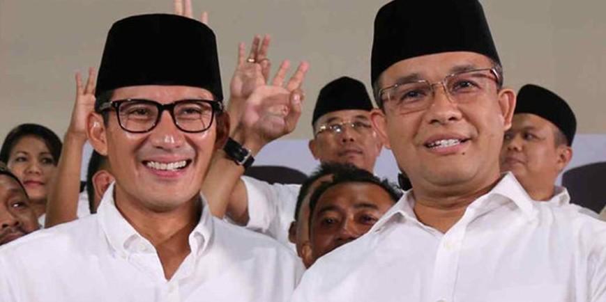Anies-Sandi beberkan apa yang diobrolkan dengan Presiden Jokowi