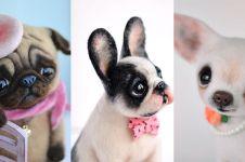 10 Boneka anjing ini mirip aslinya, detailnya bikin gemes deh
