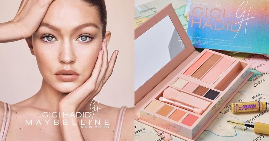 Gigi Hadid X Maybelline rilis makeup kit serbaguna, sold dalam 1,5 jam