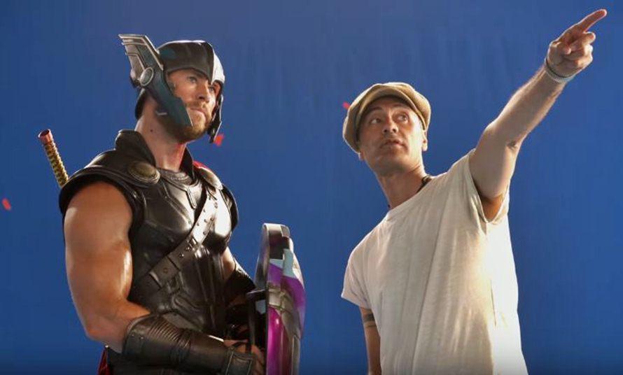 8 Foto di balik layar film Marvel terbaru Thor: Ragnarok, keren abis!