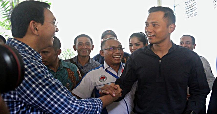 Kunjungi Ahok, Agus Yudhoyono dapat surat yang isinya menyentuh