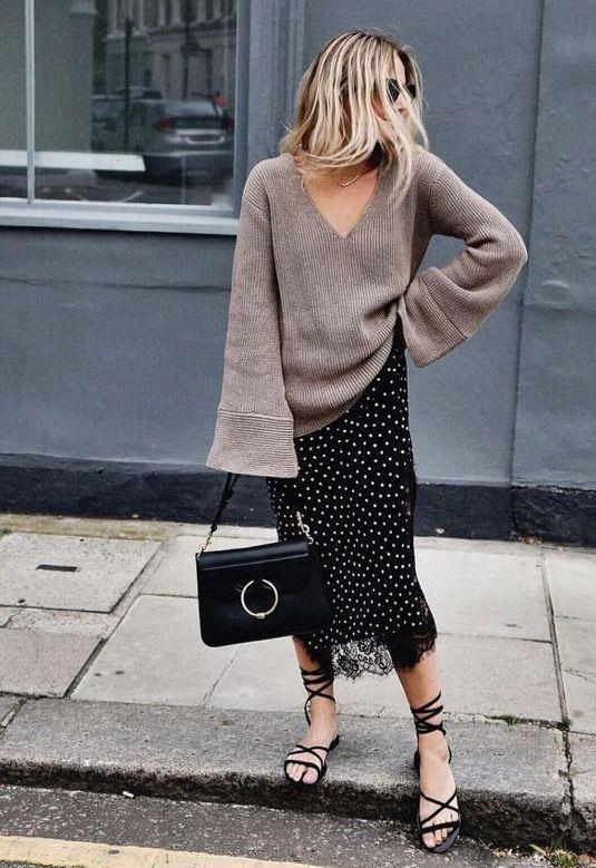 sweater dan rok ala pinterest  © 2017 berbagai sumber