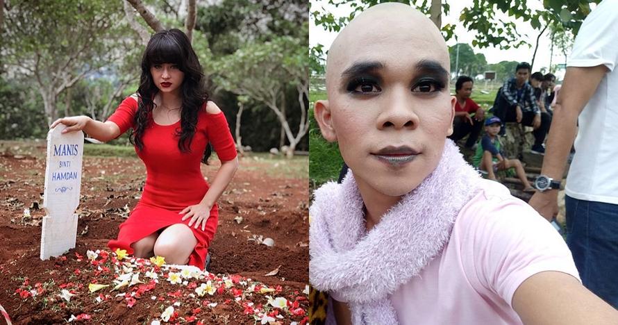 10 Gaya Dewi Perssik & Rama Purba saat syuting Si Manis Jembatan Ancol