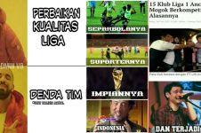 10 Meme 'sepak bola nasional' ini nyindirnya bikin miris