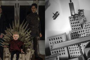 Bermodal kardus & bayi, keluarga ini parodikan 10 film top Hollywood