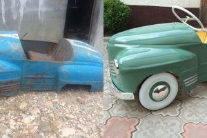 8 Mobil mainan bekas ini dipoles lagi, hasilnya membuat terpana