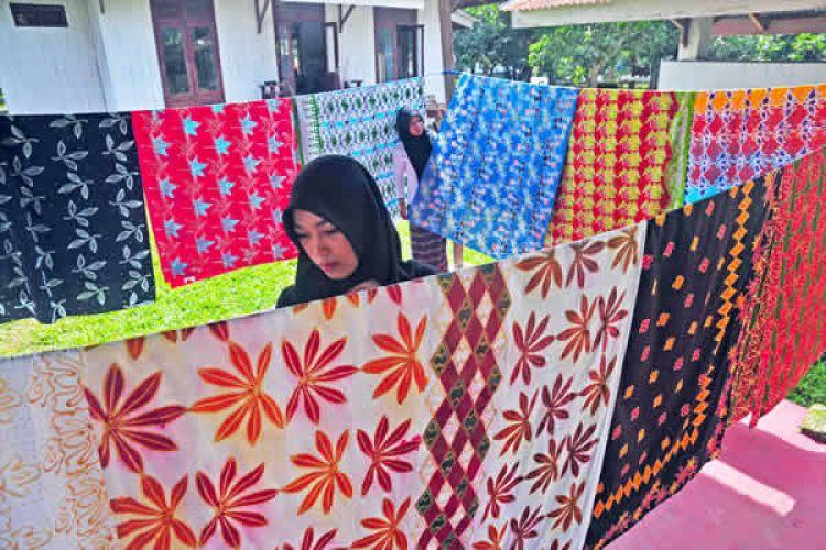 Usaha batik milik ibu-ibu asal Riau ini raih omzet Rp 300 juta/bulan