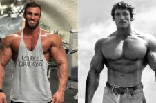 7 Gaya Calum Von Moger, pemeran Arnold Schwarzenegger di film Bigger