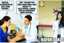 12 Meme seputar dokter ini lucunya bikin pengen pura-pura sakit