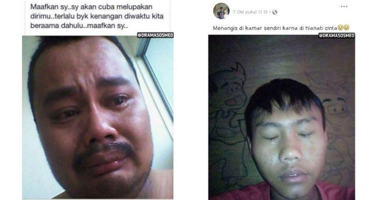 8 Kelakuan warganet pamer nangis di media sosial ini sungguh terlalu