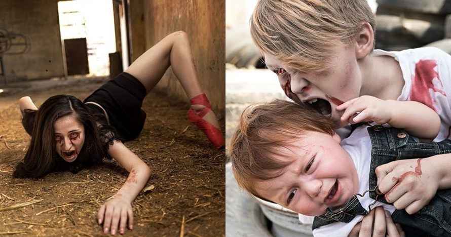 10 Karya fotografi bertema zombie ini bikin anak kecil jadi serem