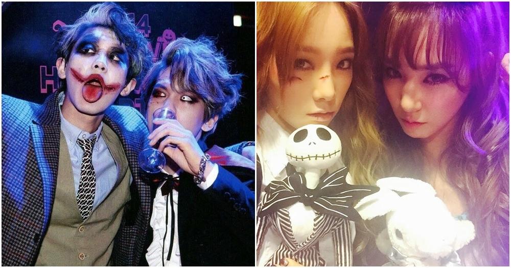 12 Gaya seram ala seleb K-Pop rayakan Halloween, bisa jadi inspirasimu