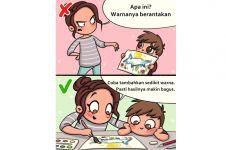 10 Ilustrasi pola asuh anak yang baik vs buruk, orangtua wajib tahu