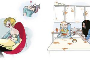 15 Ilustrasi 'rempongnya' jadi ibu, cewek-cewek siap ngalamin nih
