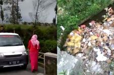 Kelakuan orang buang sampah di sungai ini bikin geram, parah banget
