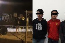 Coret tugu helikopter Lanud Atang Sandjaja, aksi tiga remaja ini parah