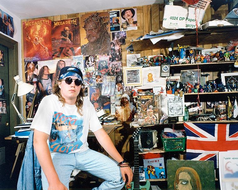 10 Penampakan kamar anak muda tahun 90an, poster artis ...