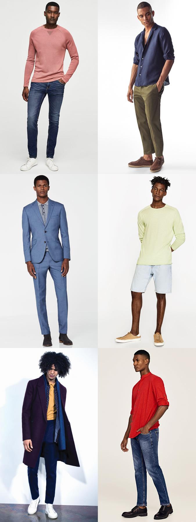 warna baju dan kulit berbagai sumber