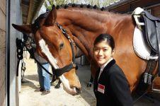 Sandang disabilitas, atlet berkuda ini sukses raih berbagai prestasi