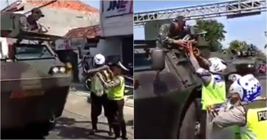 Aksi polisi-TNI ini bukti kita tidak sama kita kerja sama