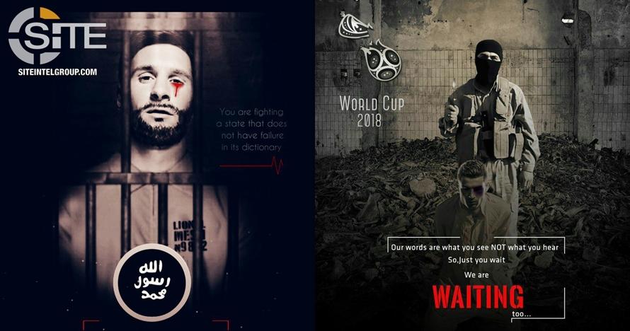 ISIS ancam Piala Dunia 2018 di Rusia, Messi & CR7 masuk incaran
