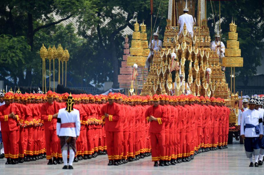 10 Potret megah prosesi kremasi Raja Thailand, habiskan Rp 1 triliun