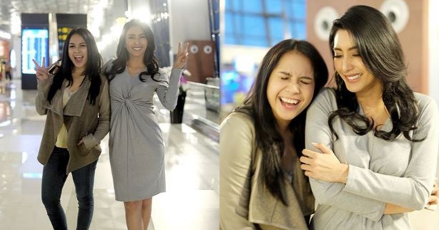 Akur dengan mantan pacar suami, Nagita hangout bareng Tyas Mirasih