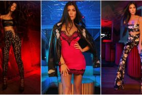 PrettyLittleThing X Kourtney Kardashian rilis koleksi fashion ala 70an