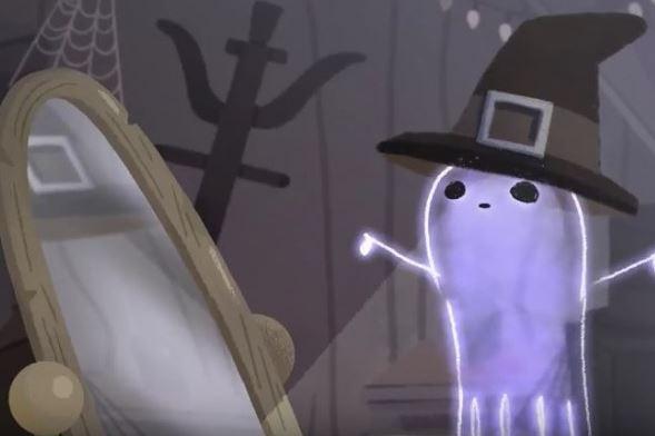 Kisah di balik Google Doodle tampilkan hantu Jinx ini inspiratif