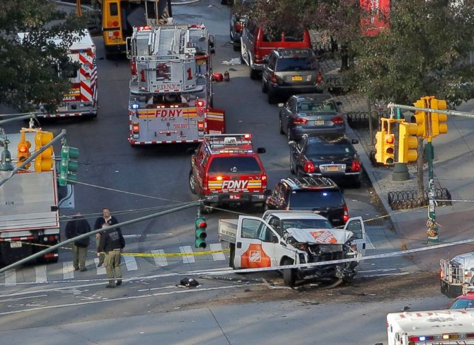 Teror Manhattan 1-4 © 2017 ABC News