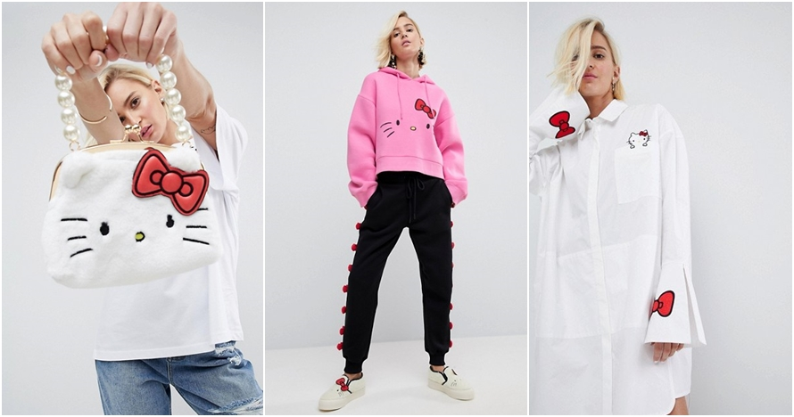 Hello Kitty X ASOS rilis koleksi fashion baru, anak 90an nostalgia nih