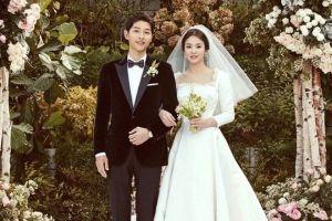 Terungkap, ini besaran biaya pernikahan Song Hye-kyo dan Song Joong-ki