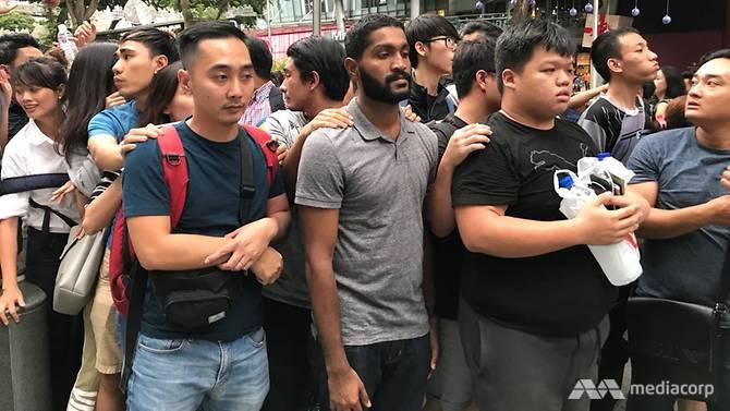 HL Iphone di Singapura © 2017 channelnewsasia