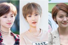 8 Artis Korea ini makin cantik dengan rambut pixie cut, bisa ditiru ni