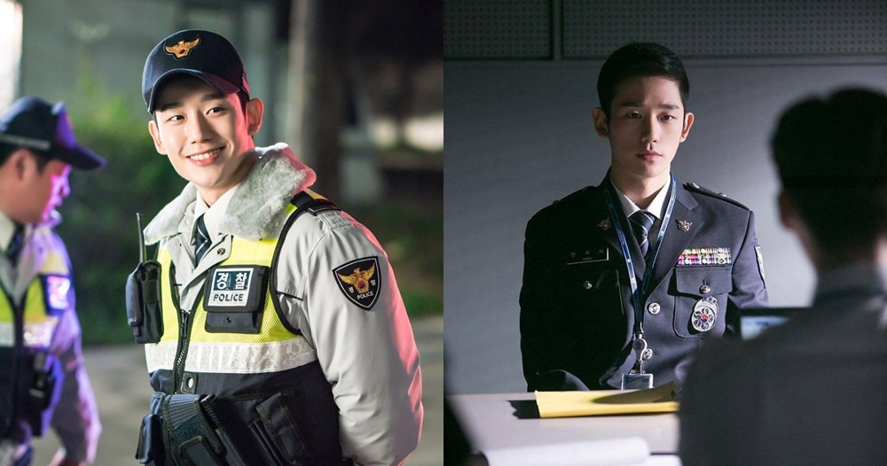 7 Potret Jung Hae-in, polisi  memesona di While You Were Sleeping