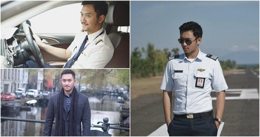 10 Gaya Haydar Pratama, pilot ganteng mantan kekasih Kahiyang Ayu