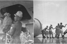 10 Foto langka tentara Jepang jadi kuli usai kalah perang di Indonesia
