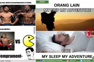 8 Meme 'orang lain vs gue' ini bakal bikin kamu cengar-cengir sendiri
