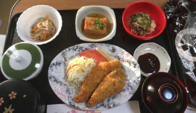 Rumah sakit di Jepang sajikan makanan lezat, bikin pasien lahap makan